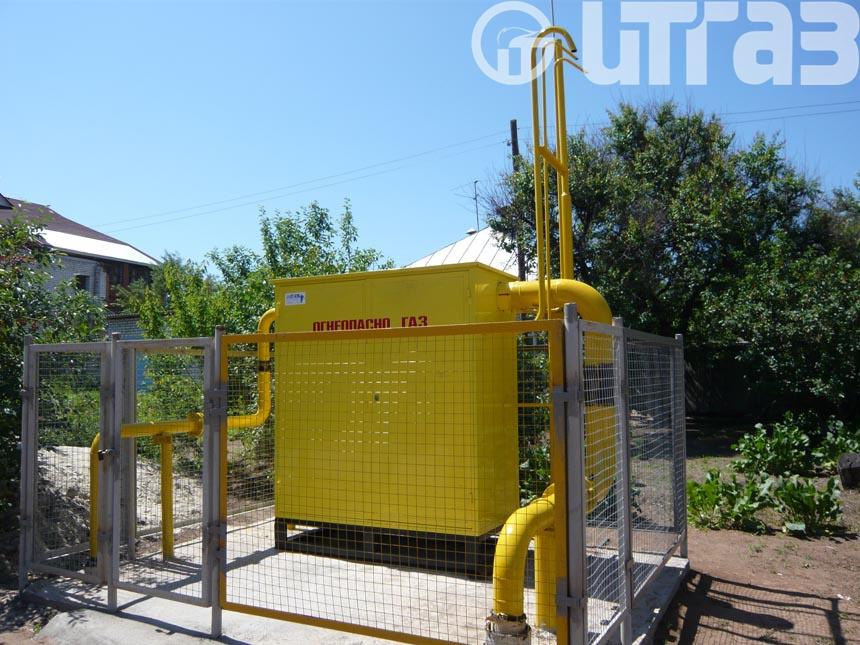 Шкафные газорегуляторные пункты ШРП - MBN/80, MBN/80-BP